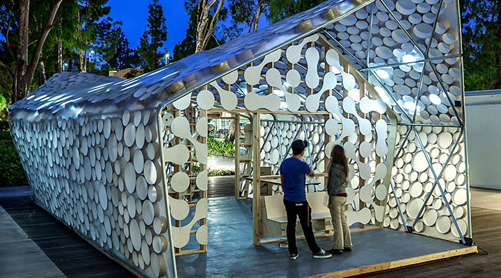 Designed by UCLA students and faculty, the Backyard BI(h)OME advances affordable housing and sustainability